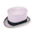 FOR HIRE - Ascot Grey Wool Top Hat