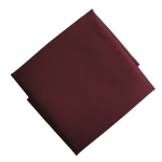 Burgundy / Wine Pocket Square