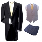 FOR HIRE - Morning Coat, Trousers & Waistcoat
