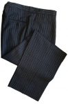 100% Wool Morning Stripe Trousers
