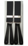 Grey Leather End Braces